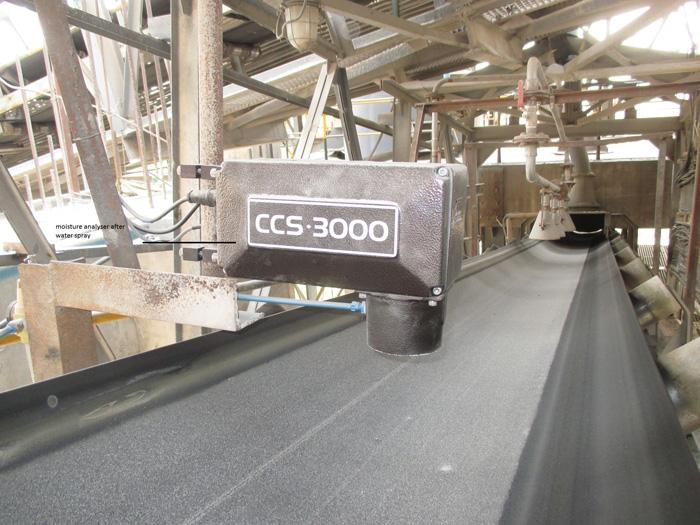 CCS-3000 Coal Sinter Moisture
