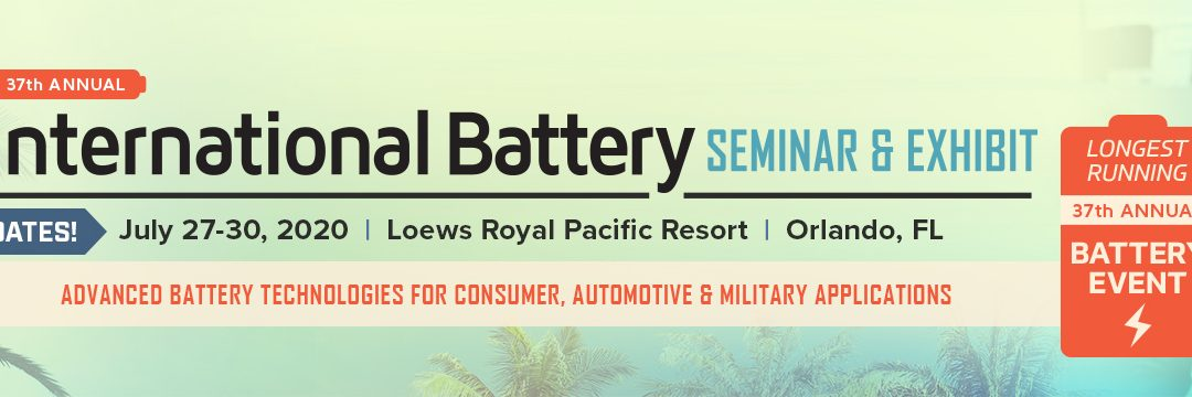 MoistTech Adds International Battery Seminar 2021