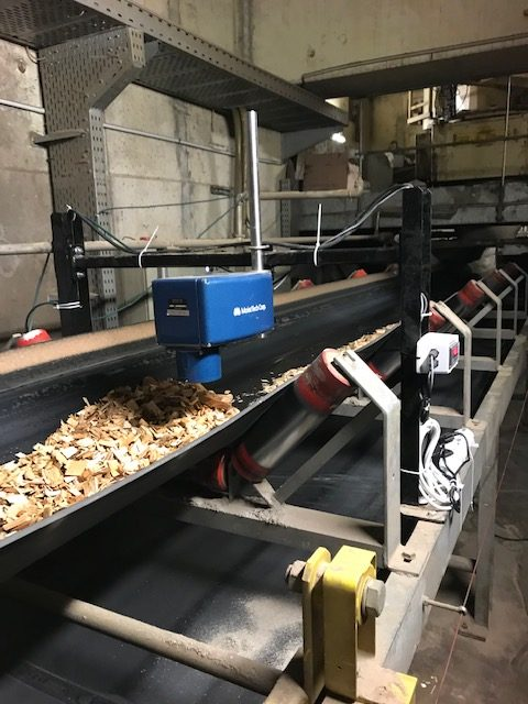 moisture control in wood chips